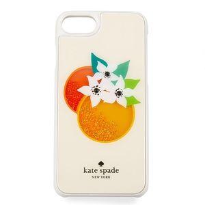 Kate Spade Orange 🍊 Phone Case